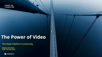 The Power of Video in Cities and Transportation